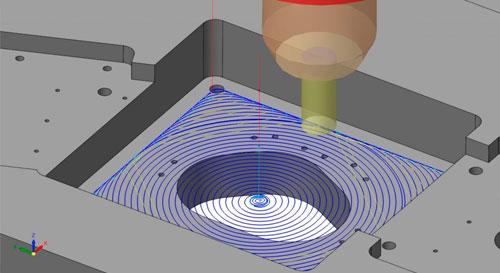 usinagem dinamica volume alta remocao cimatron volumill