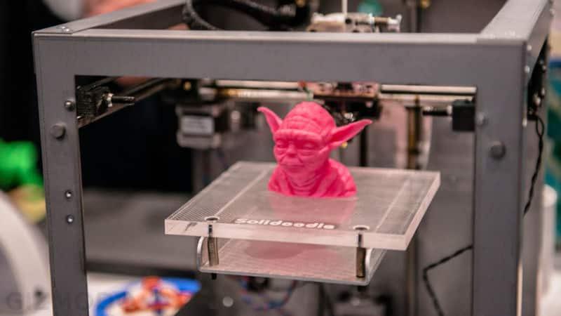 Protótipo em impressora 3D
