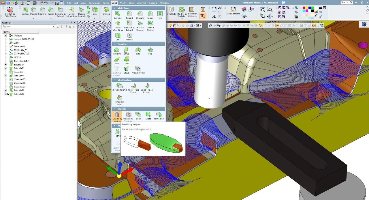 Softwares CAM: A integração entre CAD/CAM
